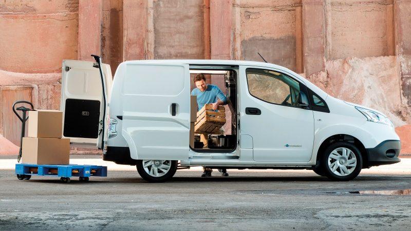 Nissan Nissan e-NV200 – elektrisk varevogn – Trio Biler