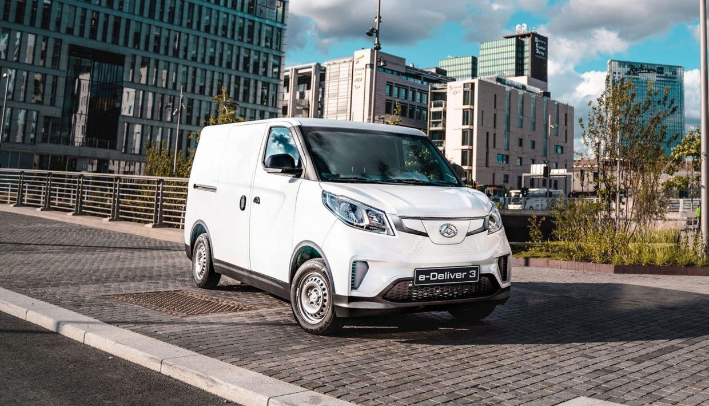 Erhvervsbiler til salg - Maxus e-Deliver 3